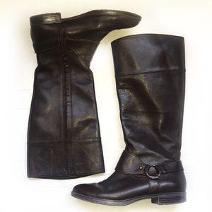 Lauren Ralph Lauren Tall Riding Boots Brown 7.5